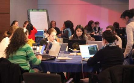Great Article: Lady Hackers Kick off Women's History Month